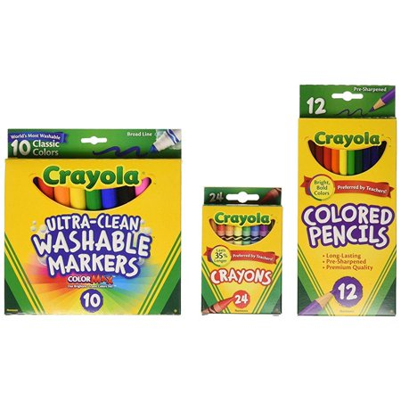 Crayola Core Pack For Back To School   Grades 3 5