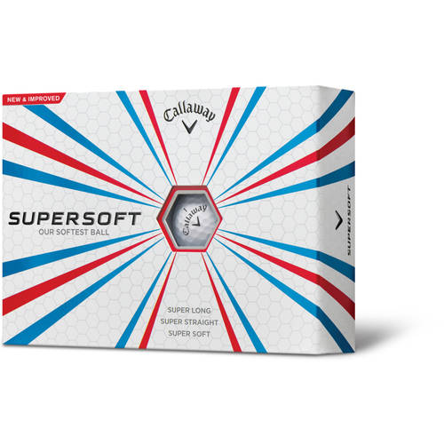 Callaway Supersoft Golf Balls, White, 12-Pack