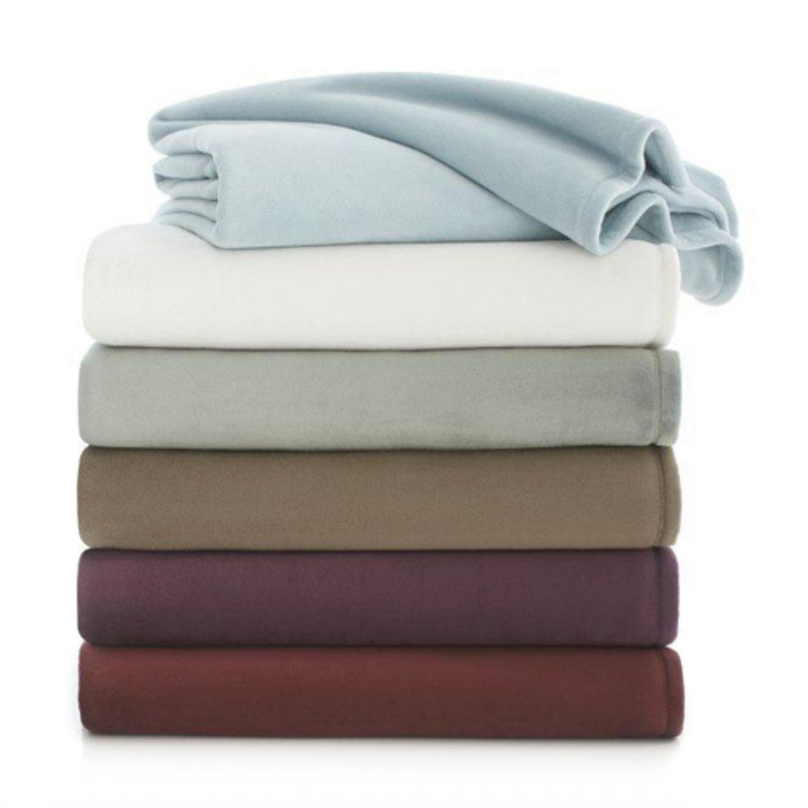 Ultra Touch Plush Twin Desert Taupe Blanket