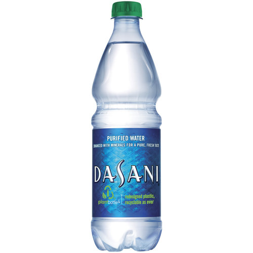 How much ounces in a bottle of water