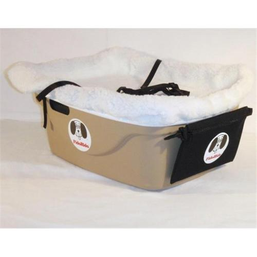 FidoRido Products FRT1W-S Tan One-Seater with White Fleece and Small Harness