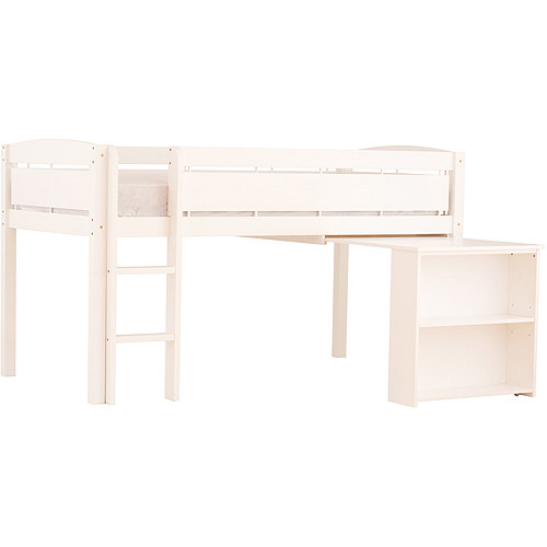 Canwood Whistler Junior Loft Bed With Desk White