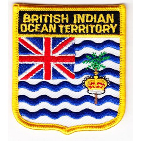 - British Indian Ocean Territory Shield Patch