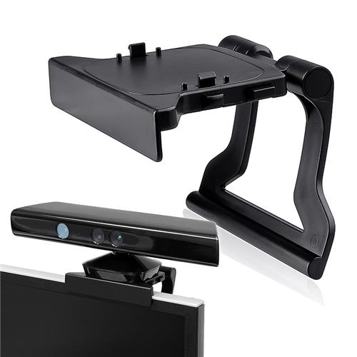 Insten Kinect Sensor TV Clip Mount Stand Holder for Xbox 360 / Slim, Black