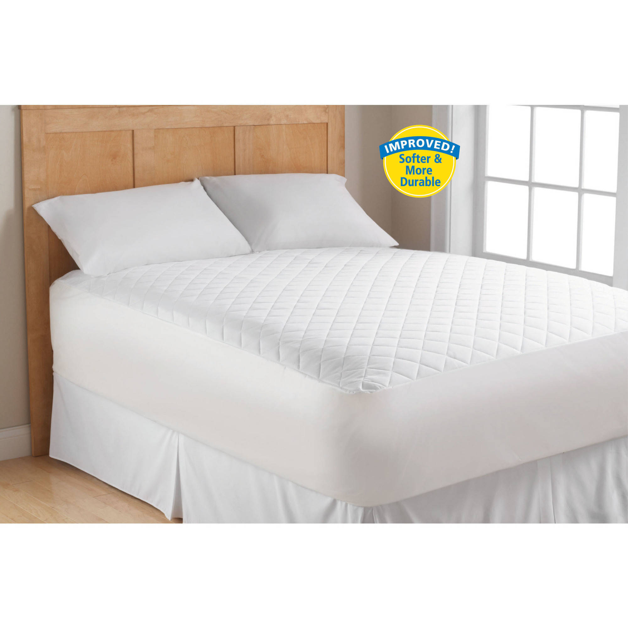 Mainstays Supersoft Mattress Pad, Queen by ZHEJIANG MULTI GLORY HOME TEXTILES CO LTD