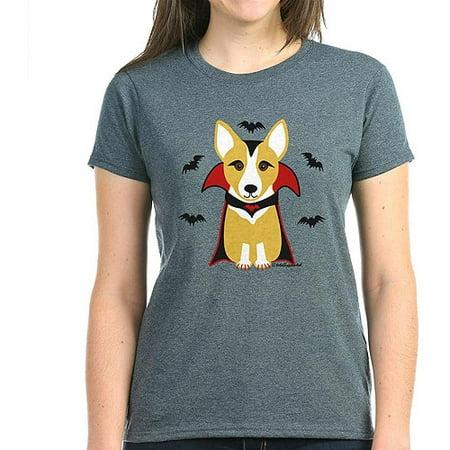 Contare Corgi - T-shirt Scura Delle Donne Vampiro 2e8Npb
