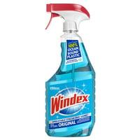 Windex Glass Cleaner Spray Bottle, Original Blue, 23 fl oz