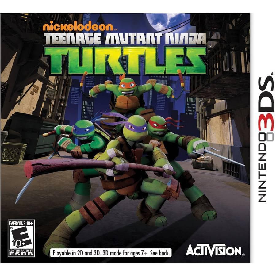 teenage mutant turtles (nintendo 3ds) - walmart