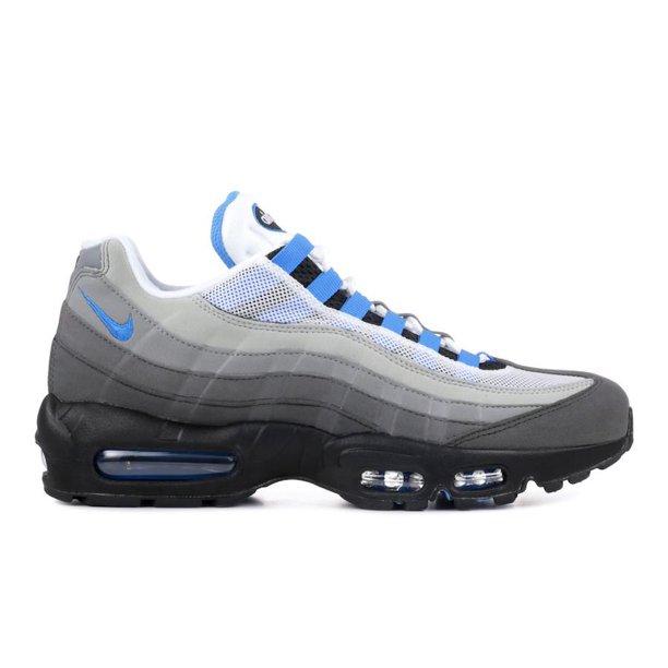 Mens Nike Air Max 95 OG Crystal Blue White Black AT8696-100