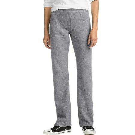 Hanes ComfortSoft™ EcoSmart® Women's Petite Open Leg Sweatpants - O4634