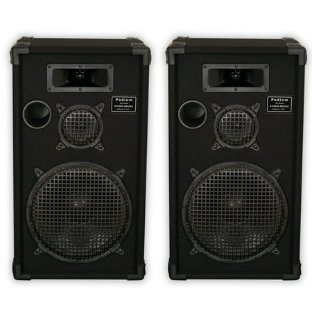 Podium Pro by Goldwood E1200C Passive Speakers 12