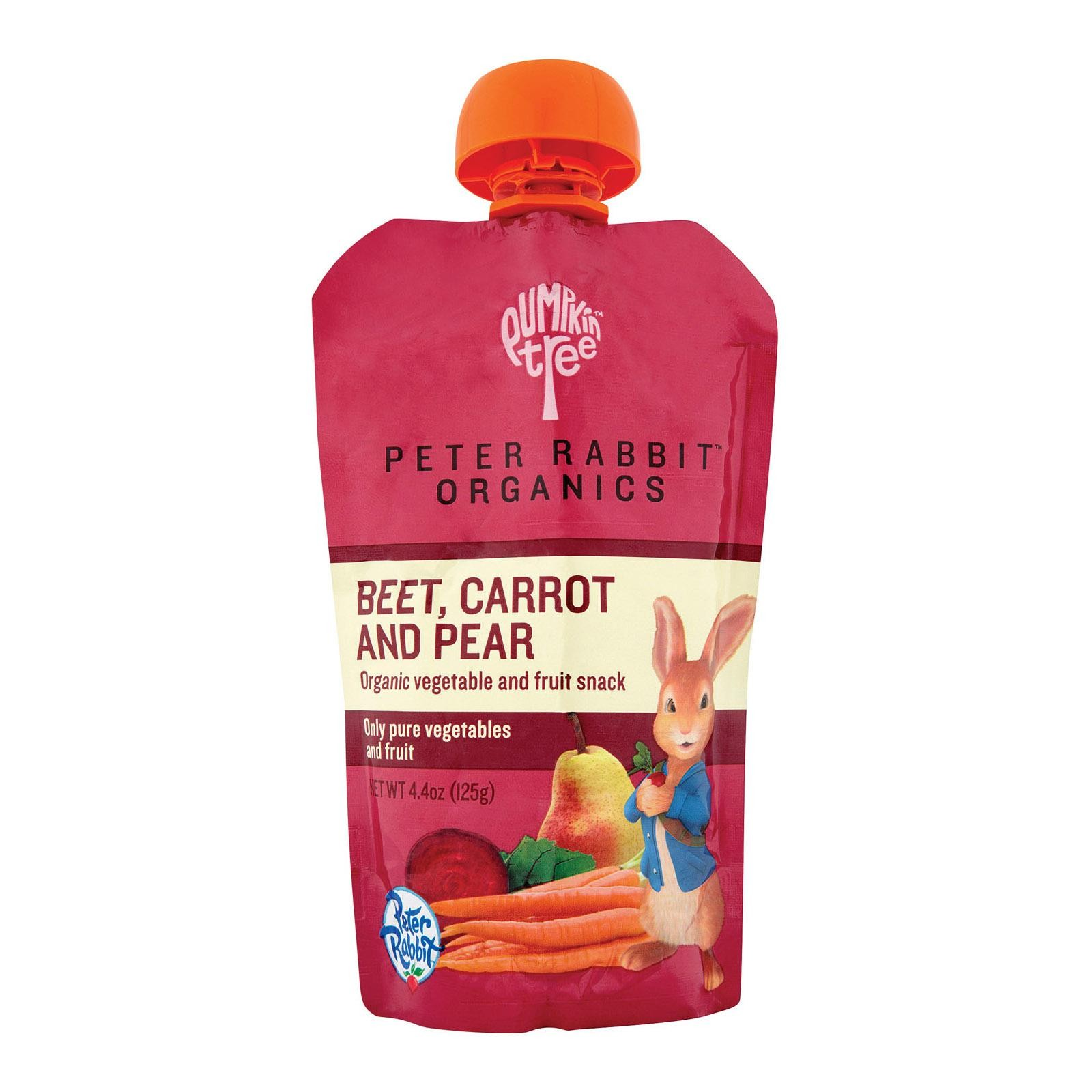 Peter Rabbit Organics Veggie Snack - Beet, Carrot And Pear - pack of 10 - 1