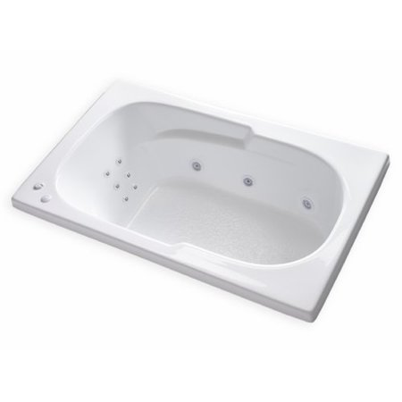 Carver tubs hygienic aqua massage 60 39 39 x 36 39 39 whirlpool bathtub - Aqua whirlpools ...