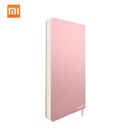 Xiaomi Qualitell Paper Notebook Blank Sheets Pocket Size Diary Drawing Book Journal Sketchbook Note Pad For Office Meeting Travel 192 Pages Gold Fiber Notebook