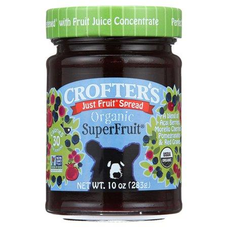 Crofters Just Fruit Spread   Superfruit 10 Oz Jars   Single Pack