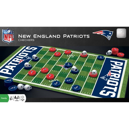 MasterPieces New England Patriots Checkers](Patriots Toys)