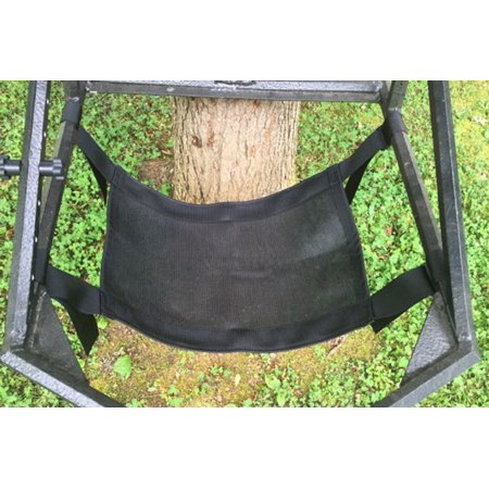 Rustic Outdoor Universal Mesh Tree stand Seat -  New, Upgrade or Replacement for climber, lock-on, ladder, turkey (Guide Gear Extreme Deluxe Hunting Climber Tree Stand)