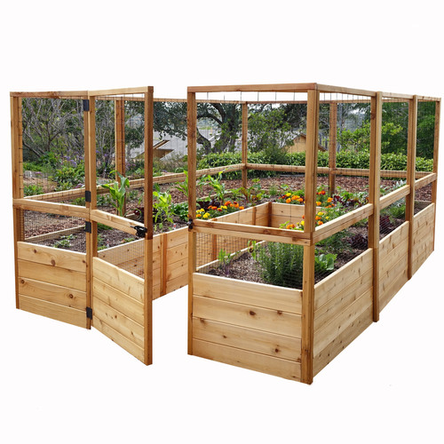Outdoor Living Today 8 ft x 12 ft Cedar Raised Garden