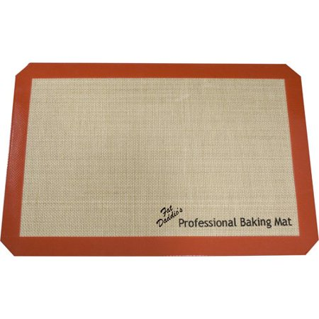 Fat Daddios Silicone Baking Mat, Fits Full Size Sheet Pan 16 1/4 Inch x 24 1/2 Inch