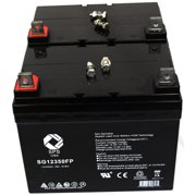 SPS Brand 12V 35Ah Replacement battery for  Pride Mobility BATLIQ1017 AGM olt (2 PACK)