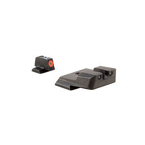 Trijicon Smith & Wesson HD Night Sight Set M&P M&P M2.0 SD9 VE SD40 VE, Orange Front Outline Lamp by Trijicon