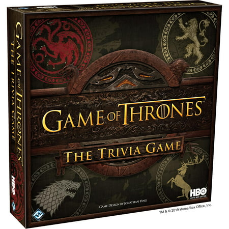 HBO Game of Thrones: The Trivia Game (Game Of Thrones Board Game Storm Of Swords)