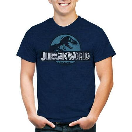 About Dance T-shirt - Jurassic World Men's Logo Short Sleeve T-Shirt
