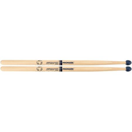Promark System Blue Scott Johnson   Scojo   Rubber Tip Practice Sticks