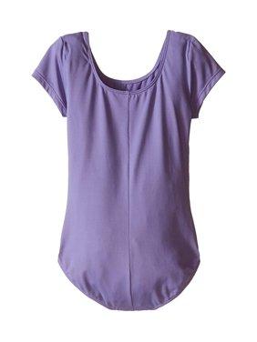 Bloch Kids Microlux Short Sleeve Leotard (Toddler/Little Kids/Big Kids) Lavender