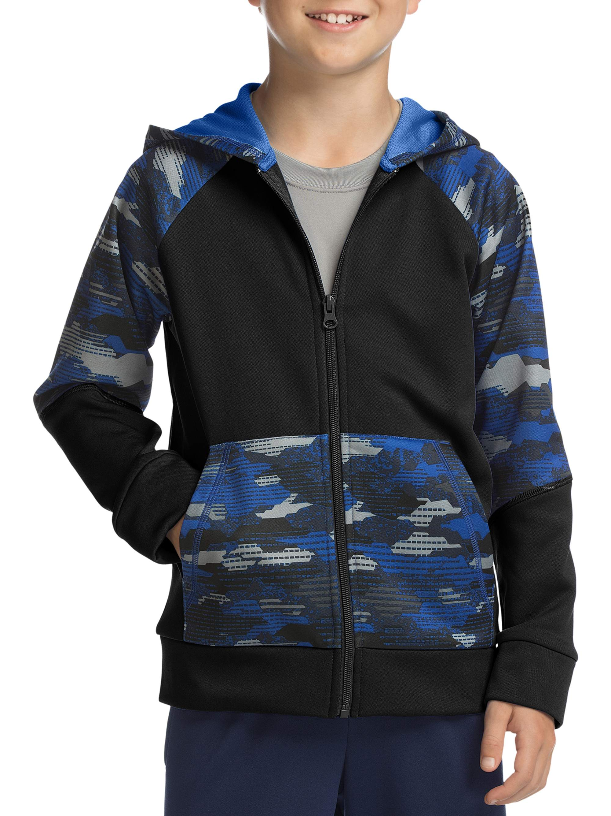 Boys' Tech Fleece Full Zip Hooded Jacket