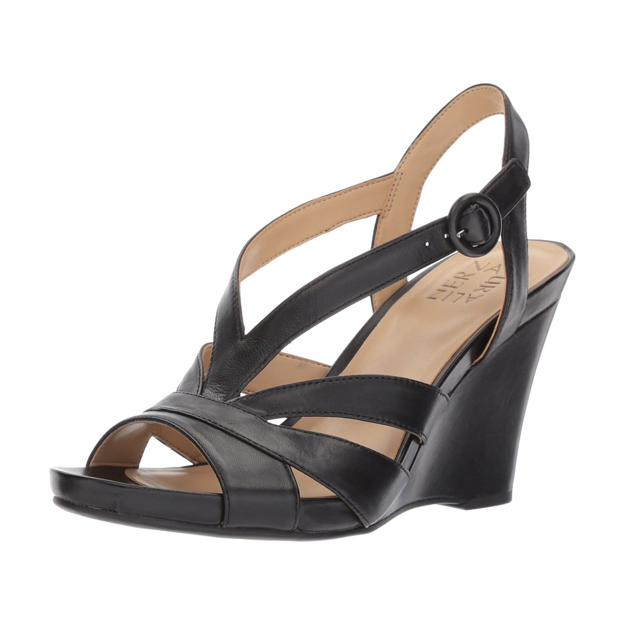 5fdeb0844b95 Naturalizer Women s Brandy Wedge Sandal