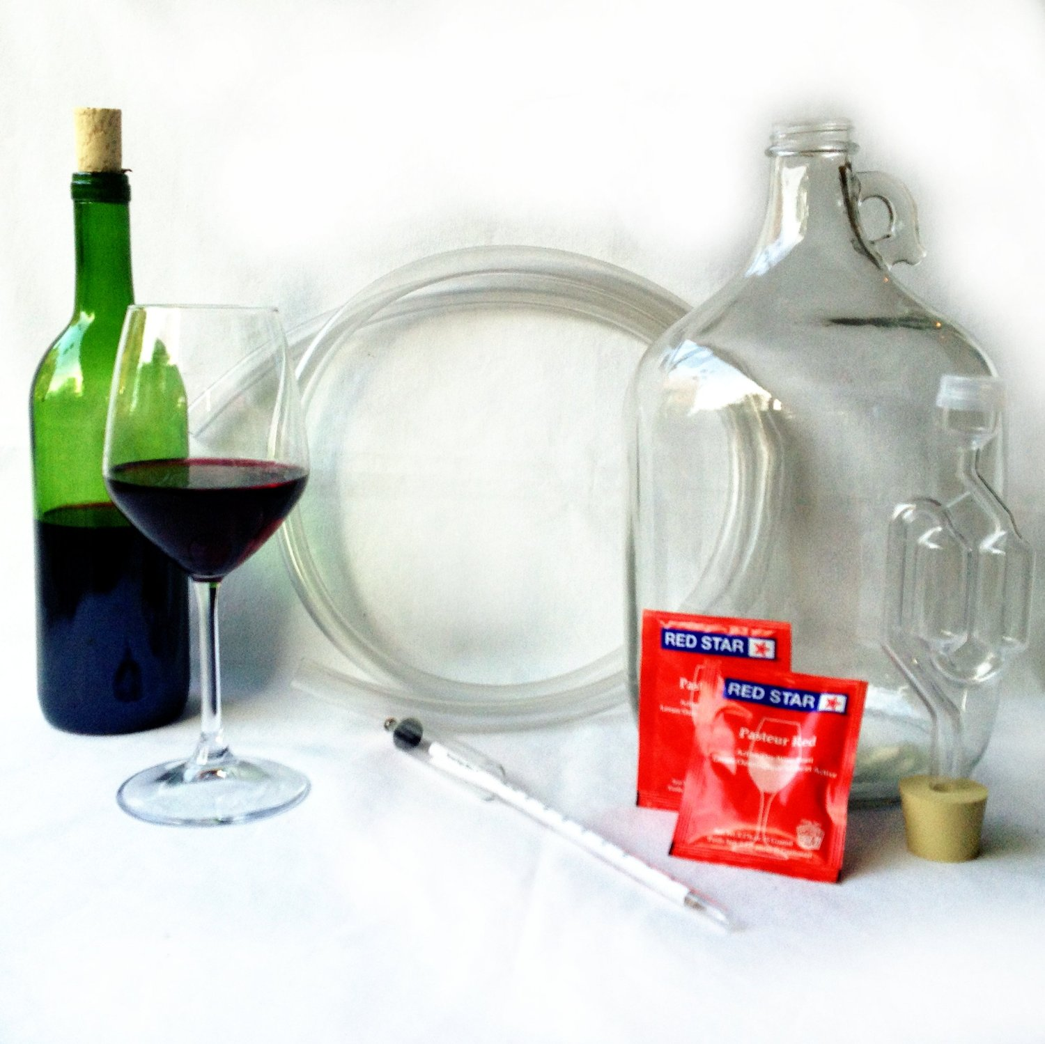 Deluxe Fruit Wine Making Kit