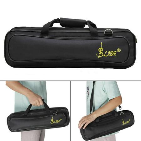 LADE - LADE Padded Flute Bag Backpack Soft Case Lightweight with Carry Handle Shoulder Strap - Walmart.com
