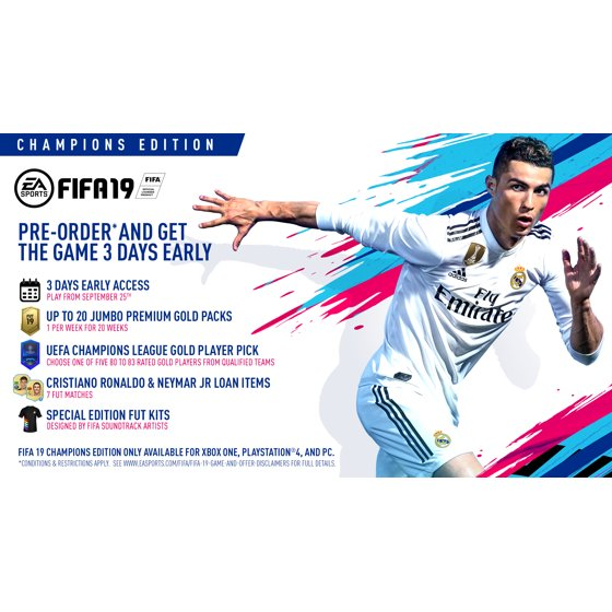 FIFA 19 Champions Edition, Electronic Arts, Xbox One