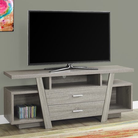 TV Stand with Storage - Dark Taupe - EveryRoom