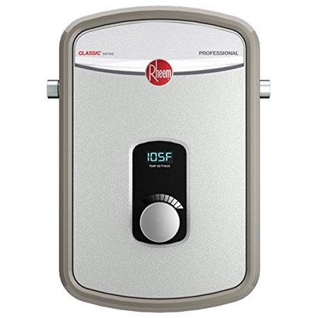 rheem electric tankless water heater,13,000w rtex-13 - walmart