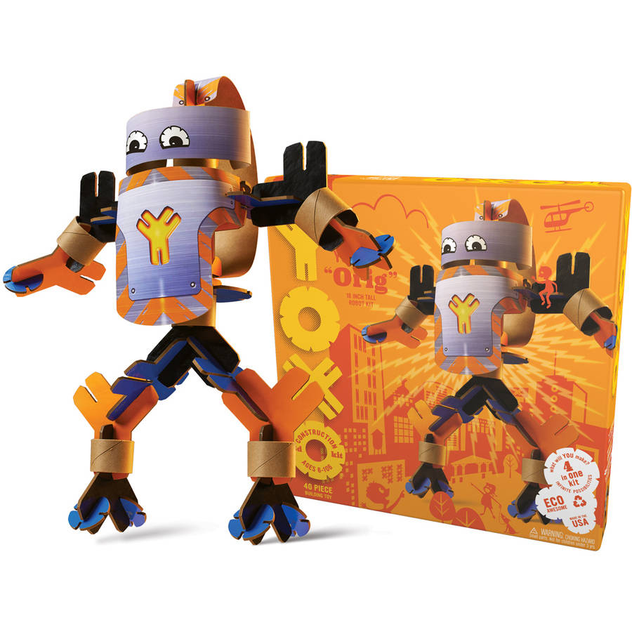 Orig 18 Inch Tall Robot Toy Box by YOXO