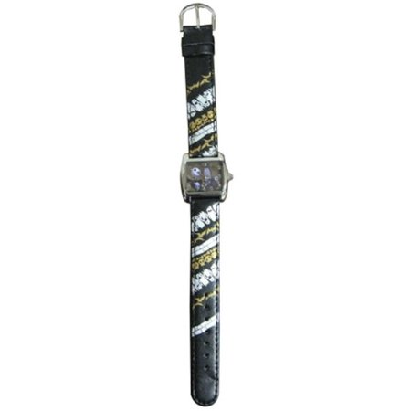 Nightmare Before Christmas Watch - 41581 THE NIGHTMARE BEFORE CHRISTMAS LEATHER BAND WATCH