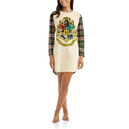 Harry Potter Women's License Fleece Sleepshirt (sizes S/M 2XL/3XL)
