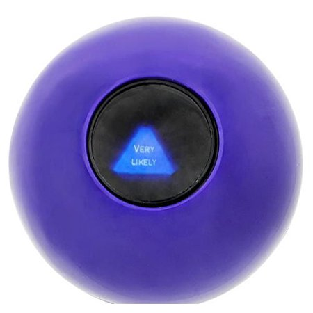 (USA Warehouse) MAGIC ORB BALL EIGHT 8 BALL ANSWERS QUESTIONS PARTY GAME GIFT CARNIVAL TOYITEM#NO: 43E8E-UFE6 C2A20426, EACH IN BOX By KOBOSY for $<!---->