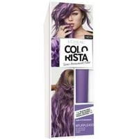 L'Oreal Paris Colorista Semi-Permanent for Light Blonde or Bleached Hair, Purple