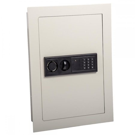 0.8CF Home Security Lock Gun Box Electronic Digital Flat Recessed Wall Safe