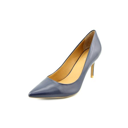 Calvin Klein Gayle Women Pointed Toe Leather Blue Heels