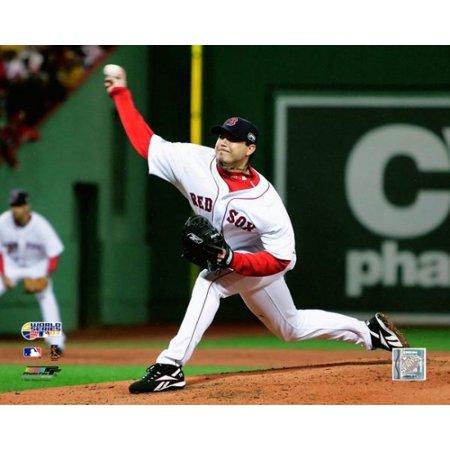Josh Beckett Winning First Game Of 2007 World Series Photo Print