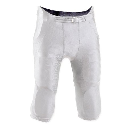 Youth Football Pants Pads - Integrated Practice Pant 2X-large Adult White