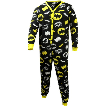 batman ladies union suit onesie pajama with butt flap (Batman Suit)
