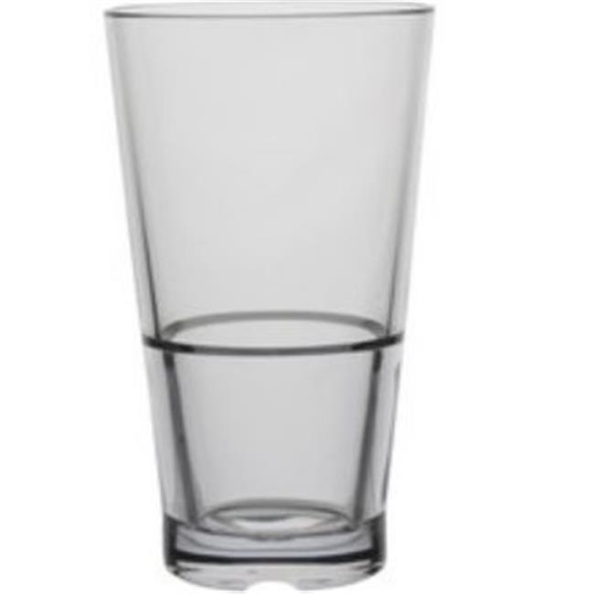 Innova Products 71010 10 oz Clear CapellaStack Tumbler - Set of 4