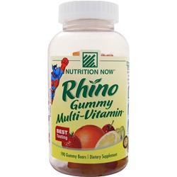 Kid's Rhino Chewy Vites Nutrition Now 190 Chewable