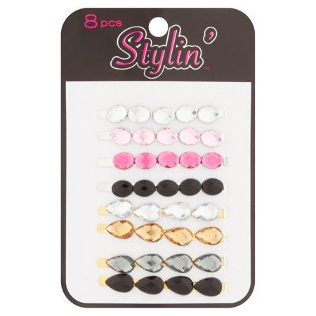 Stylin' Bobby Pins, 8 count