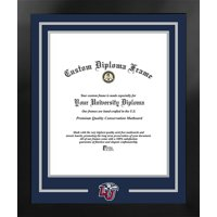 Liberty Flames 14w x 17h Spirit Diploma Nova Black Frame with Bonus Campus Images Lithograph (value savings $59)